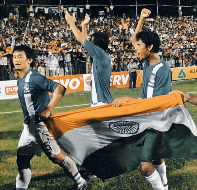 Baichung Bhutia goals and achievement