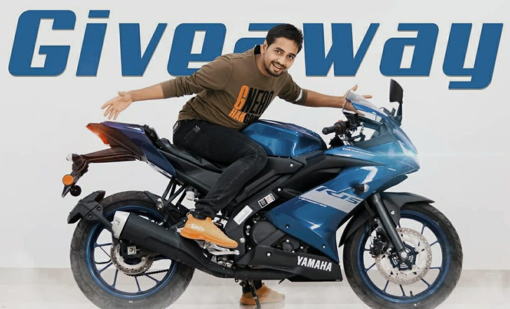 Mr Indian Hacker (Dilraj Singh Rawat) giveaway winner