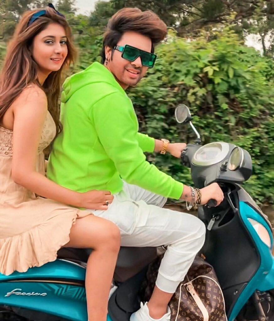 Sana Eslam Khan (Tiktok) Husband danish alfaaz