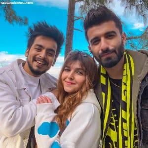 Manav Chhabra friends arshfam and ashi khanna